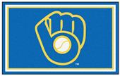 Fan Mats MLB Milwaukee Brewers 4'x6' Rug