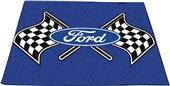 """Fan Mats Ford Flags Tailgater Mat 60""""x72"""""""