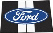 "Ford Oval w/Stripes Starter Mat Rug 19""x30"""