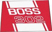 """Fan Mats Ford Boss 302 Starter Mat Rug 19""""x30"""""""