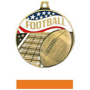 GOLD MEDAL/ORANGE RIBBON
