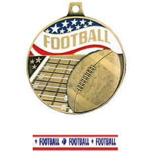 GOLD MEDAL/AMERICANA FOOTBALL RIBBON