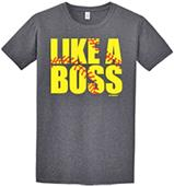 Image Sport Like a Boss Softball T-Shirt