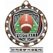 Hasty Awards Football Star Medal Insert M-4401