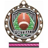 Hasty Awards Football Star Medal Insert M-4401