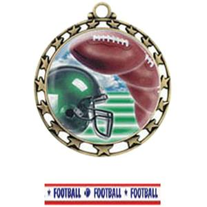 GOLD MEDAL / AMERICANA FOOTBALL RIBBON