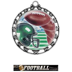 SILVER MEDAL / ULTIMATE FOOTBALL RIBBON