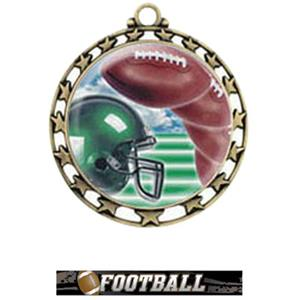 GOLD MEDAL / ULTIMATE FOOTBALL RIBBON