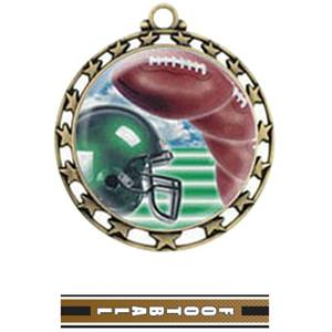 GOLD MEDAL / TURBO FOOTBALL RIBBON