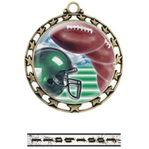 GOLD MEDAL / INTENSE FOOTBALL RIBBON
