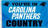 BSI NFL Carolina Panthers Country 3' x 5' Flag