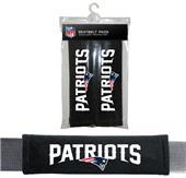 BSI NFL New England Patriots 2 Pack Seat Belt Pads