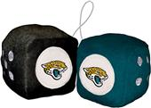 BSI NFL Jacksonville Jaguars Fuzzy Dice