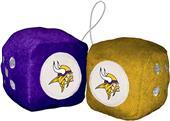 BSI NFL Minnesota Vikings Fuzzy Dice