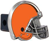 BSI NFL Cleveland Browns Metal Helmet Hitch Cover