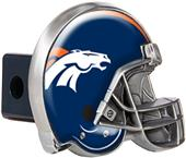 BSI NFL Denver Broncos Metal Helmet Hitch Cover