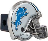 BSI NFL Detriot Lions Metal Helmet Hitch Cover
