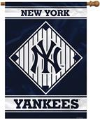 "MLB New York Yankees 28"" x 40"" House Banner"