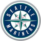 "MLB Seattle Mariners 12"" Die Cut Car Magnets"