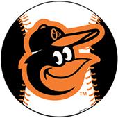 "MLB Baltimore Orioles 12"" Die Cut Car Magnets"