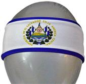 Svforza El Salvador Country Flag Headbands