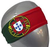 Svforza Portugal Country Flag Headbands