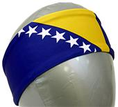 Svforza Bosnia Herzegovina Country Flag Headbands