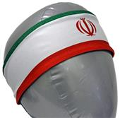Svforza Iran Country Flag Headbands