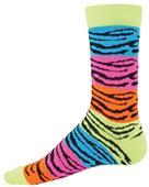 Redlion Rainbow Tiger Crew Socks - Closeout
