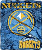 Northwest NBA Nuggets Raschel Dropdown Throw