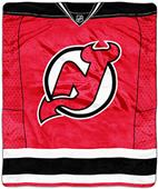Northwest NHL Devils Raschel Jersey Plush Throw