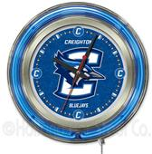 "Holland Creighton Univeristy 15"" Neon Logo Clock"