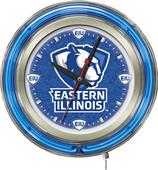 "Holland Eastern Illinois Univ 15"" Neon Logo Clock"