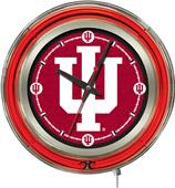 "Holland Indiana University 15"" Neon Logo Clock"