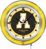 "Holland Appalachian State Univ Neon 19"" Clock"