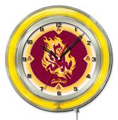 "Holland Arizona State University Neon 19"" Clock"