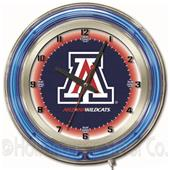 "Holland University of Arizona Neon 19"" Clock"