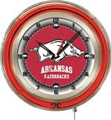 "Holland University of Arkansas Neon 19"" Clock"