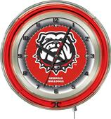 "University of Georgia ""Bulldog"" Neon 19"" Clock"