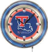 "Holland Louisiana Tech University Neon 19"" Clock"