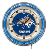 "Holland Montana State University Neon 19"" Clock"