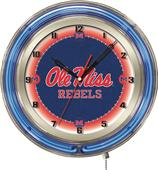 "Holland University of Mississippi Neon 19"" Clock"