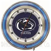 "Holland Pennsylvania State Univ Neon 19"" Clock"
