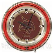 "Holland Texas State University Neon 19"" Clock"