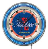 "Holland University of Tulsa Neon 19"" Clock"
