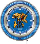 "University of Kentucky ""Cat"" Neon 19"" Clock"