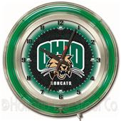 "Holland Ohio University Neon 19"" Clock"