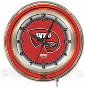 "Holland Western Kentucky University Neon 19"" Clock"