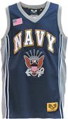 Rapid Dominance Navy Military Basketball Jersey