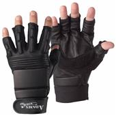 Adams Football Lineman 1/2 Finger Gloves-Closeout